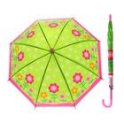 Зонт цветной 50см, пвх матовый МИКС UMT50-RIS