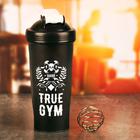 """Шейкер спортивный """"True gym"""" с шариком, 600 мл"""