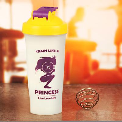 """Шейкер спортивный """"Princess"""" с шариком, 600 мл"""