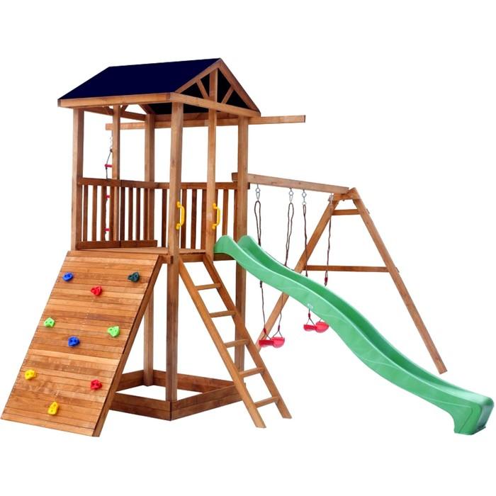 Детская площадка Можга Спортивный городок со скалодромом