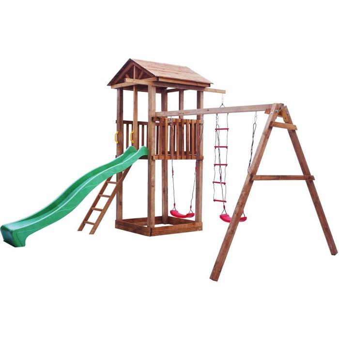 Детская площадка Можга Спортивный городок 1 с качелями