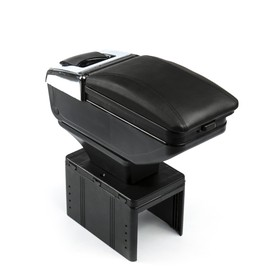 Universal arm-rest with an ashtray and a Cup holder stand, black,