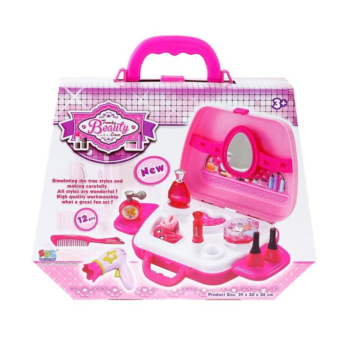 Купить детскую косметику в чемоданчике для девочек в спб купить проф декоративная косметика