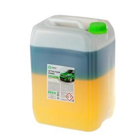 Шампунь для бесконтактной мойки Grass Active Foam Power, 2-х компонентный, 23 кг (1:60-1:1:125)