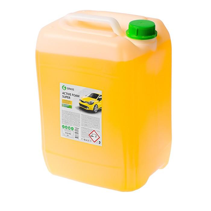 Шампунь для бесконтактной мойки Grass, 24 кг Active Foam Super Суперконцентрат+антикор (1:60- 160)