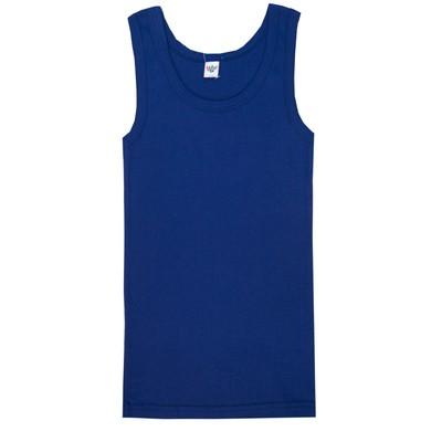 Майка для мальчика, рост 140 (72) см, цвет тёмно-синий 2233