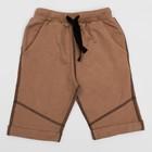 Шорты для мальчика , рост 92 (52) см, цвет коричневый 10222_М