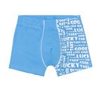 Трусы-боксеры для мальчика, рост 98/104 (56) см, цвет голубой 12043