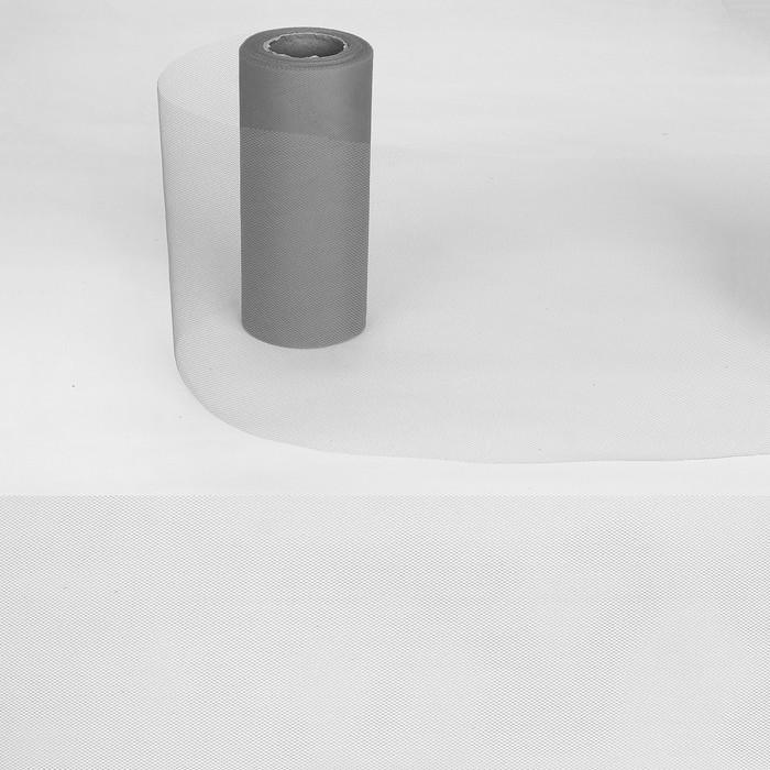 Ткань для декорирования, длина 22 метра, ширина 15 см, цвет серый