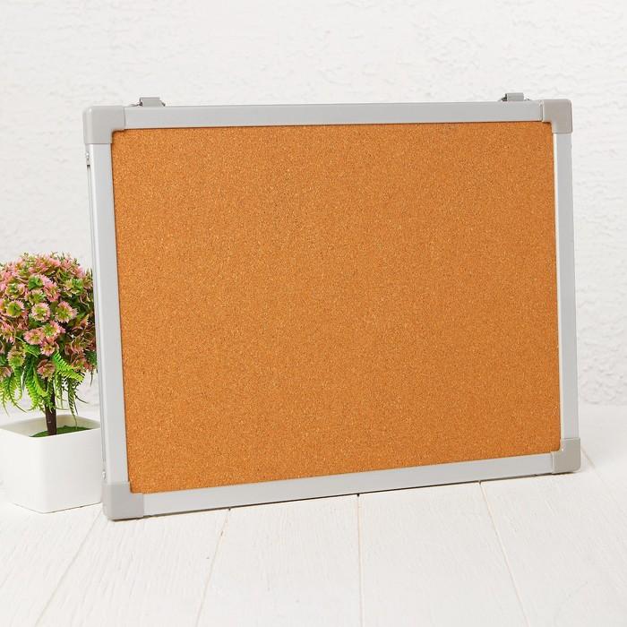 Доска под кнопки двусторонняя, 40 × 30 см