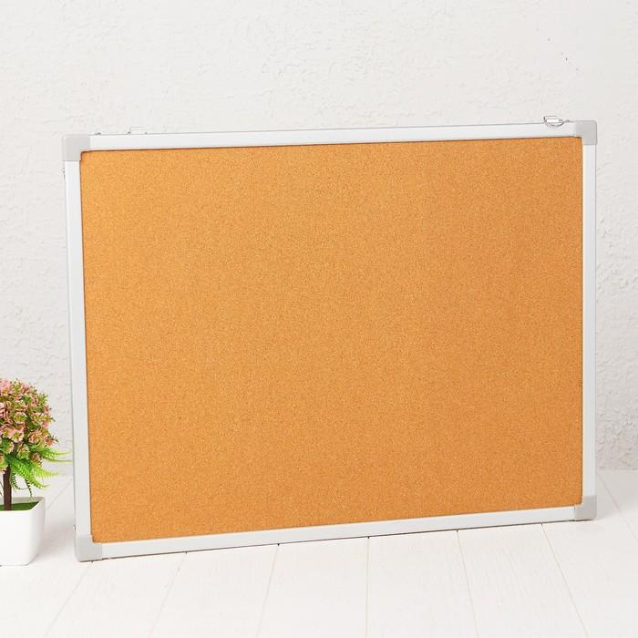 Доска под кнопки двусторонняя, 60 × 45 см