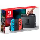 Игровая приставка Nintendo Switch, цвет неоновый красный-неоновый синий