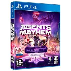 Игра для Sony PlayStation 4 Agents of Mayhem ИЗДАНИЕ ПЕРВОГО ДНЯ.