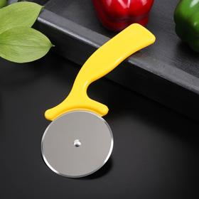 """A pizza cutter and dough 16.5 cm """"rainbow"""" color MIX"""