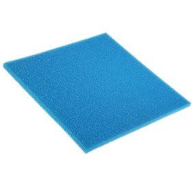 Rectangular replacement sponge for the filter, 50 x 50 cm, thickness 2 cm
