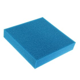 Rectangular replacement sponge for the filter, 50 x 50 cm, thickness 10 cm
