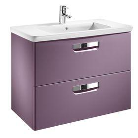 Модуль для раковины Roca The Gap, цвет фиолетовый, размер 80 х 44 см