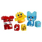 Конструктор Lego «Дупло. Мои первые домашние животные», 18 деталей