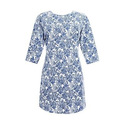 Платье женское, размер 44, цвет голубой Е 5129
