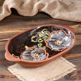Roasting tray, terracotta