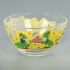 "Набор детской посуды ""Лунтик"", 3 предмета: кружка 200 мл, салатник d=13 см, тарелка d=20 см - фото 105460279"