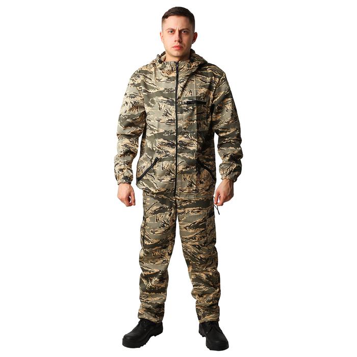 Костюм мужской «Турист», КМФ, цвет легион, размер/рост 52-54/182-188