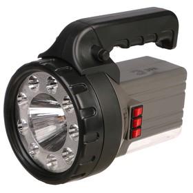 Фонарь 'Эра' FA58M, светодиод 1Вт и 9 LED, боковой свет 18 LED, аккумулятор 2.5 А.ч Ош
