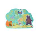 """Игрушка на стену Vertiplay Магнитные пазлы """"Кролик Хоппи и его друзья"""""""