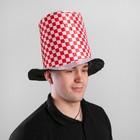 """Карнавальная шляпа """"Цилиндр"""" 56-58 см"""