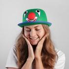 """Карнавальная шляпа """"Клоун"""" 56 см, цвет зеленый"""