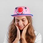 """Карнавальная шляпа """"Клоун"""" 56 см, цвет розовый"""