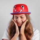 """Карнавальная шляпа """"Клоун"""" 56 см,цвет красный"""