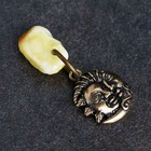"Keychain mascot ""the Moon"", natural amber"
