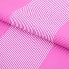 """Бумага гофрированная """"Полоски"""", розовый, 50 х 70 см"""