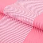 """Бумага гофрированная """"Полоски"""", светло-розовый, 50 х 70 см"""