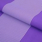 """Бумага гофрированная """"Полоски"""", фиолетовый, 50 х 70 см"""