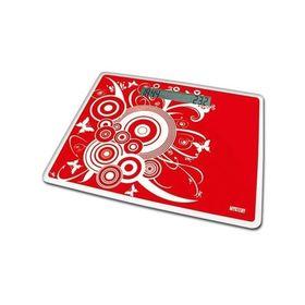 Весы напольные Mystery MES-1809, электронные, до 200 кг, красные