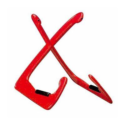 Стойка многофункциональная BESPECO XANADUR настольная, пластик, цвет: красный, высота: 24.5 см   250