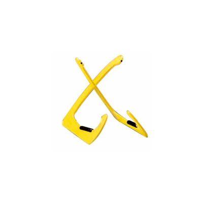 Стойка BESPECO XANADUY многофункциональная настольная, пластик, цвет: желтый, высота: 24.5 см   2506