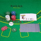 Poker game set (cards 54 pieces, pieces 60 PCs) mix