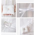 Подушечки для колец и бокалов «Белый танец», набор для шитья, 21 × 15 см - фото 691993
