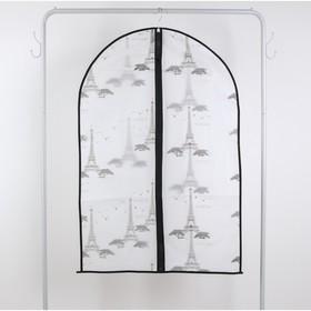 Чехол для одежды 60×90 см, PEVA