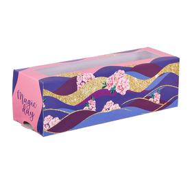 Коробочка для макарун Magic day, 18 х 5,5 х 5,5 см Ош