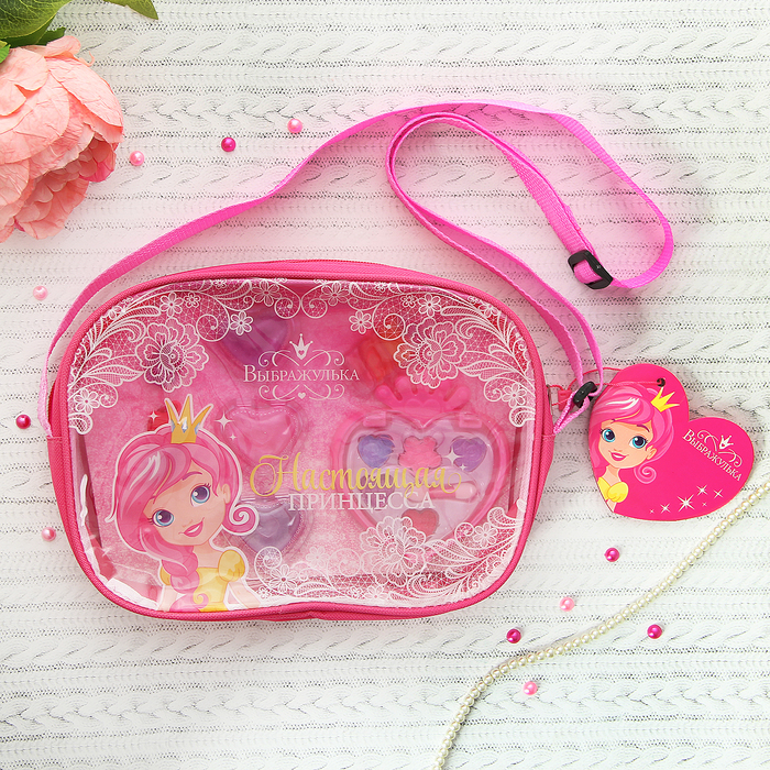 """Набор косметики для девочки в сумке """"Настоящая принцесса"""""""
