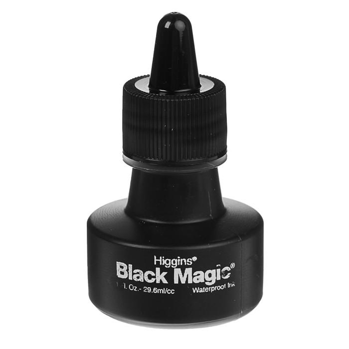 Тушь для письма и рисования художественная 29,6мл Higgins Black Magic пигментн чёрн 44011