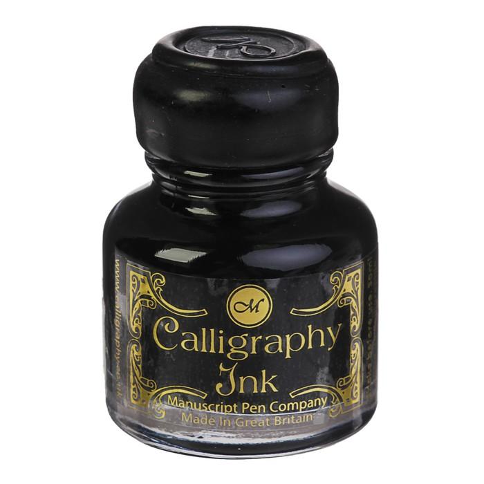 Чернила для каллиграфии 30 мл Manuscript Gift чёрный MSH420BLA