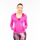 Толстовка женская спортивная 219, цвет розовый меланж, р-р 44-46  (M)