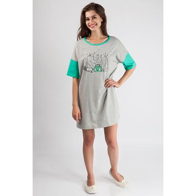 Платье женское 80105 цвет серый, р-р 44