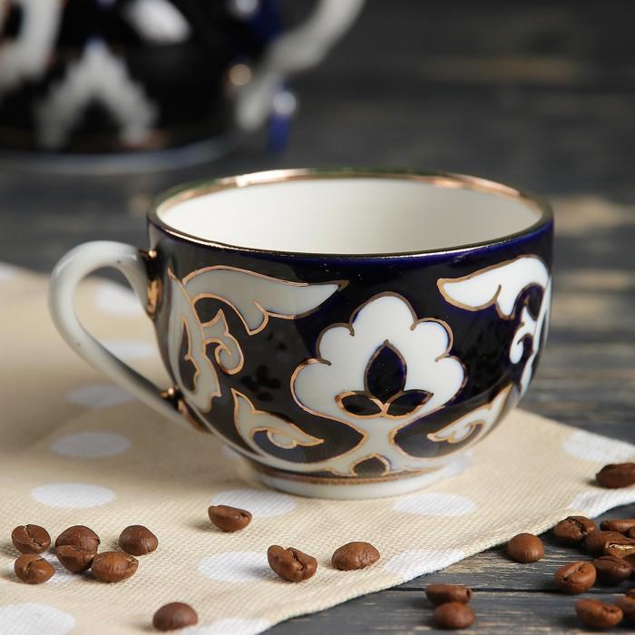 Чашка чайная 220мл 9010 Пахта в золоте - фото 654479
