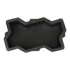 Форма для тротуарной плитки «Волна», 21 × 11 × 6 см, гладкая, Ф11001